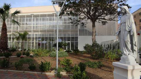 Giardino nuovo Centro ambulatoriale riabilitazione
